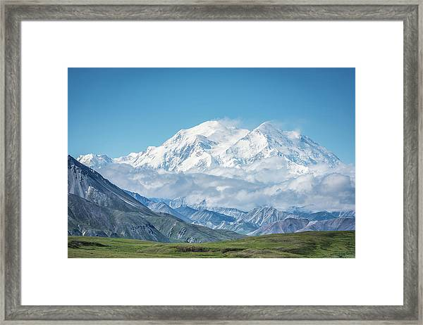 Mt. Denali - Alaska 20,310' Framed Print