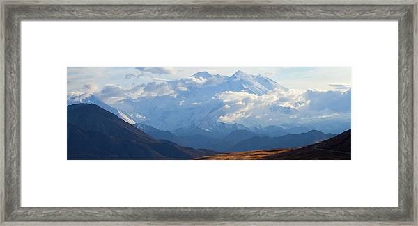 Mt. Denali Framed Print