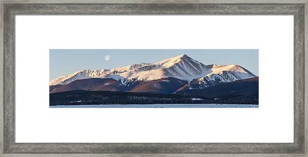 Mt. Elbert Framed Print