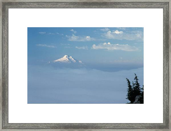 Mt. Jefferson Framed Print