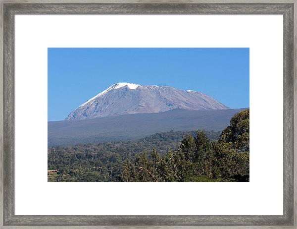 Mt Kilimanjaro  Framed Print