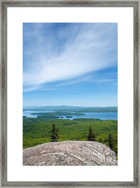 Mt Major View Framed Print