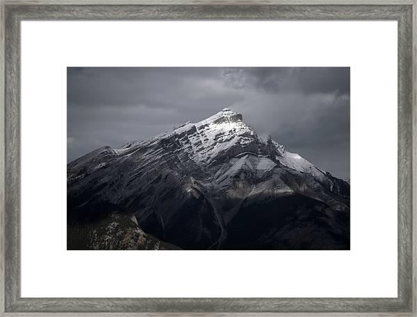 Mt. Norquay Framed Print