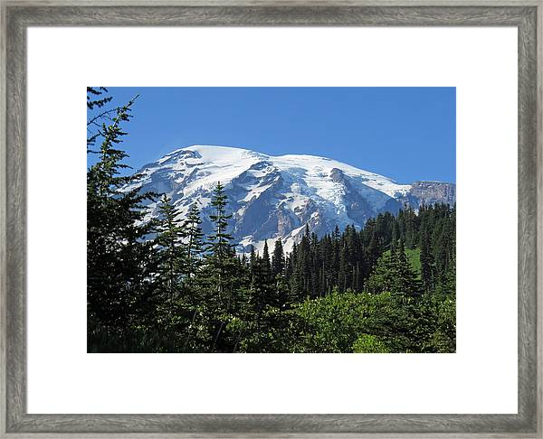 Washington's Mt. Rainier Framed Print