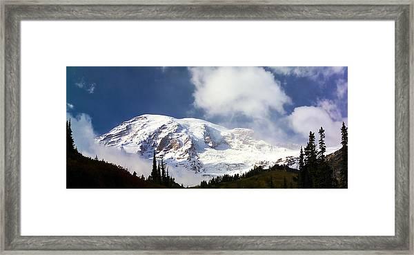 Mt Rainier II Framed Print