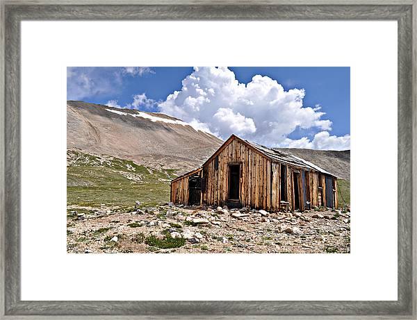 Mt. Sherman Framed Print