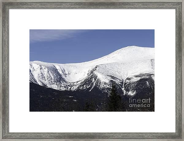 Mt Washington And Tuckerman's Ravine Framed Print