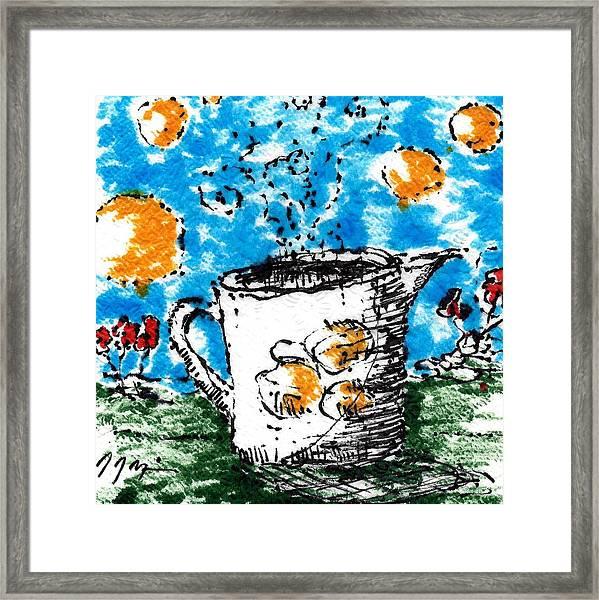 Mug Shot Framed Print