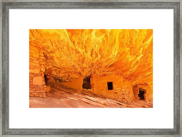 Mule Canyon Framed Print