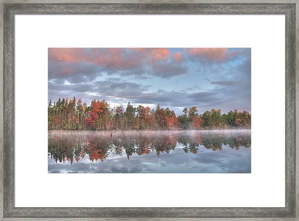 Mullica River Sunrise Framed Print