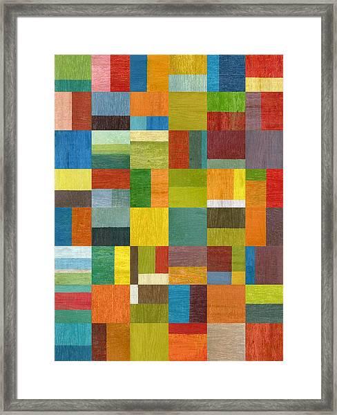 Multiple Exposures Lv Framed Print