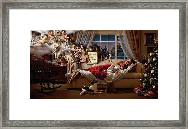 Mummy Look!!! Framed Print by Ddiarte