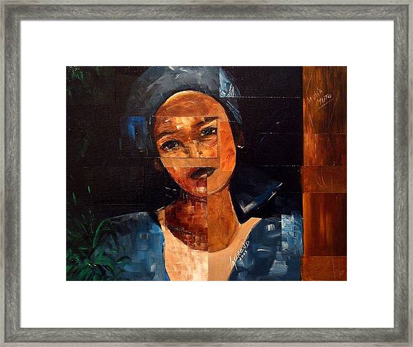 Muna Muto Framed Print by Laurend Doumba
