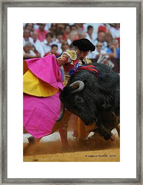 Mundo Torero Framed Print