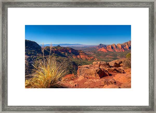 Munds Wagon Trail Framed Print