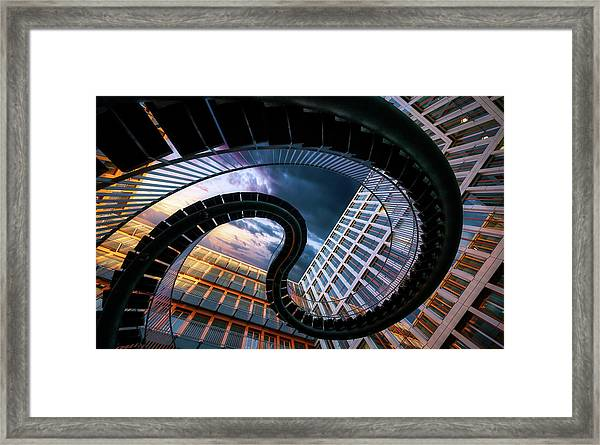 Munich Black Snake Framed Print