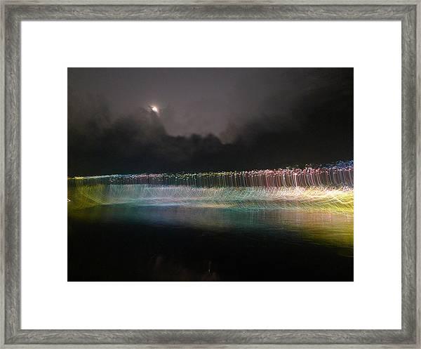 Munro River Reflections 4 Framed Print
