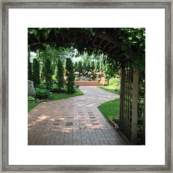 Munsinger Garden Framed Print