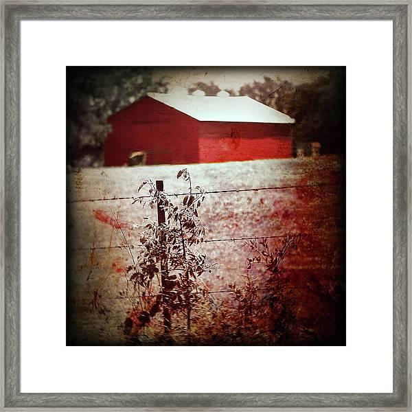Murder In The Red Barn Framed Print