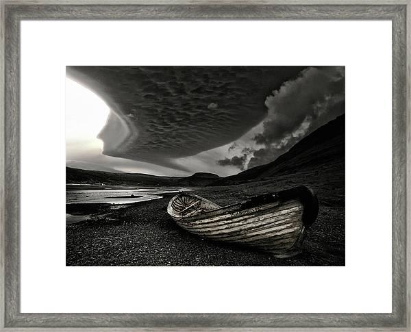 Murky Framed Print