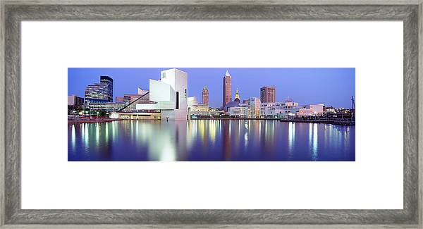 Museum, Rock And Roll Hall Of Fame Framed Print