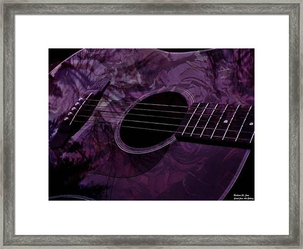 Music Of The Roses Framed Print