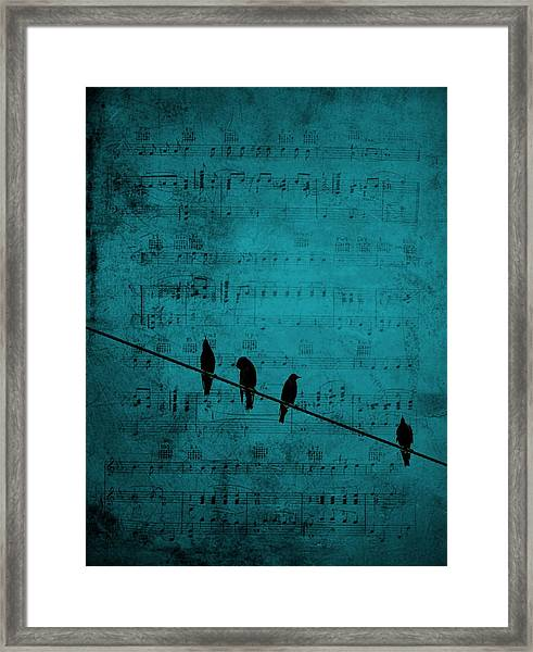 Music Soothes The Soul Framed Print