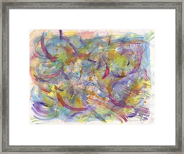 Musical Play Framed Print