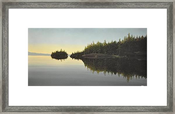 Muskoka Solitude Framed Print