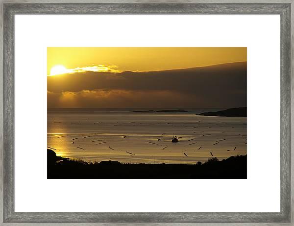Mussel Shoals West Cork Framed Print