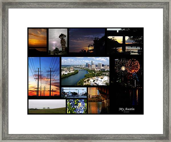 My Austin Framed Print