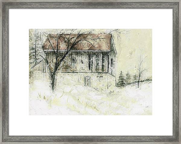 Caledon Barn Framed Print