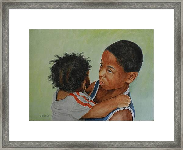 My Brother's Keeper Framed Print