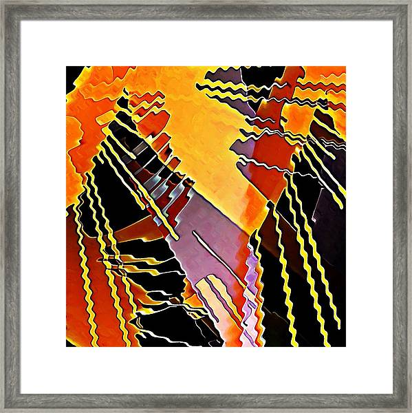 My Fission Electric Framed Print