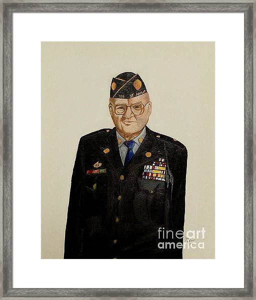 My Grandfather Galen Kittleson Framed Print