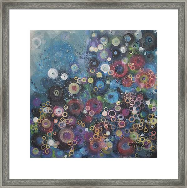 My Most Favorite Circles Framed Print