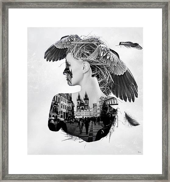My Nest Framed Print