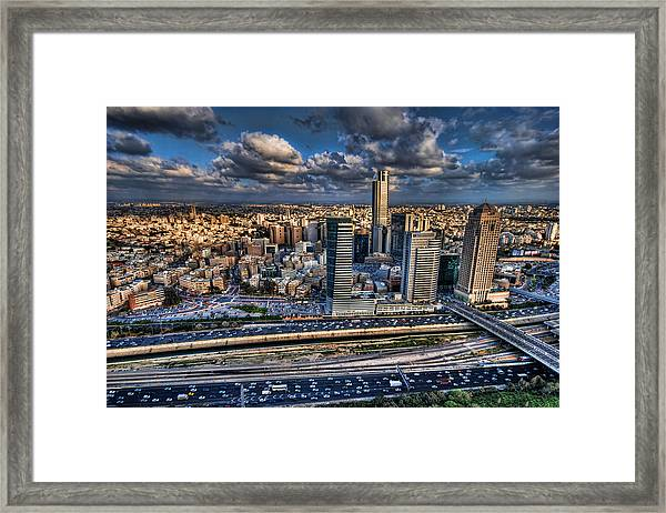 My Sim City Framed Print