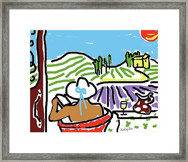 My Tuscany Dream 2 Framed Print