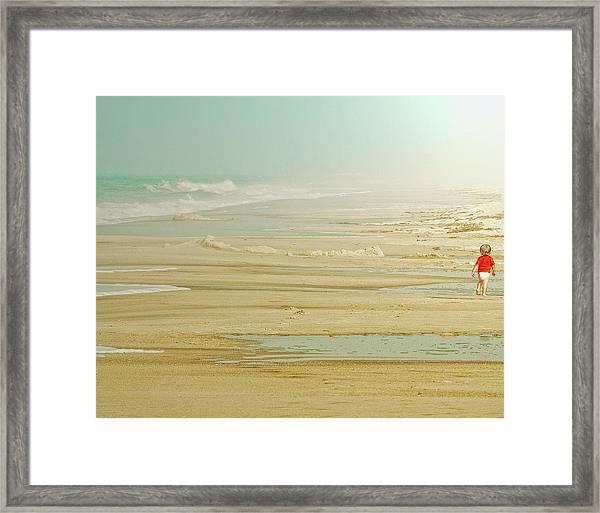 My Way Framed Print