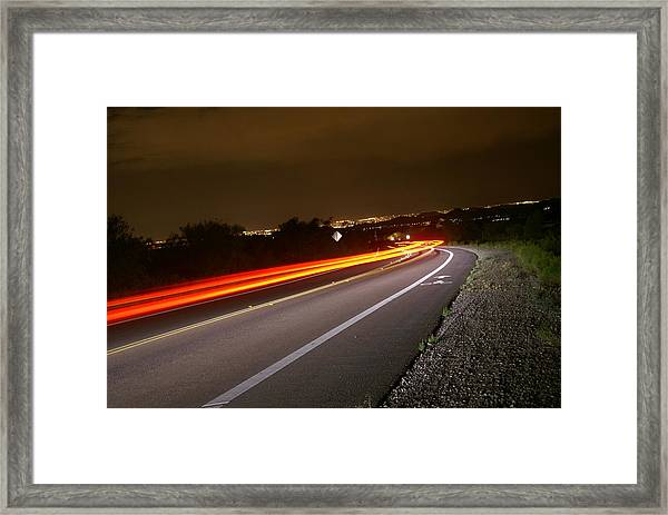 My Way Home Framed Print