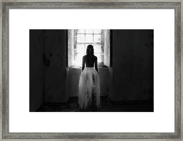 My Way Out Framed Print