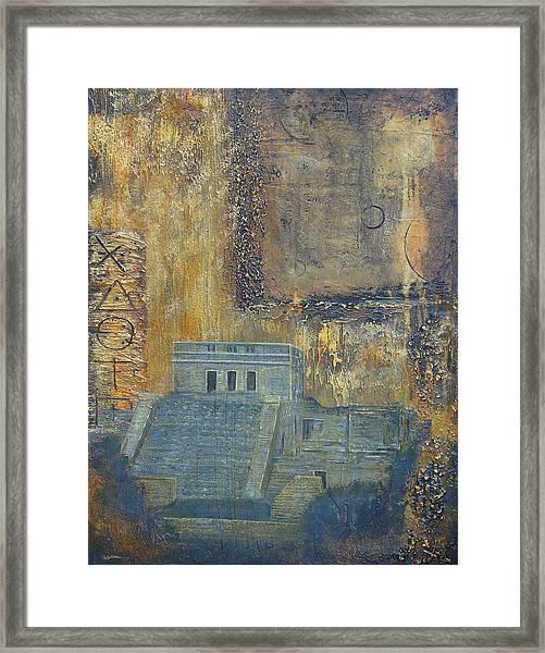 Myan Temple Framed Print by Jeffrey Oldham
