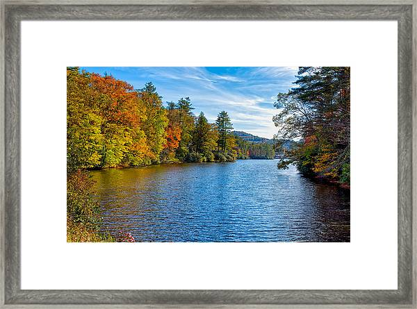 Myriad Colors Of Nature Framed Print