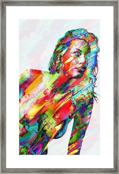 Myriad Of Colors Framed Print