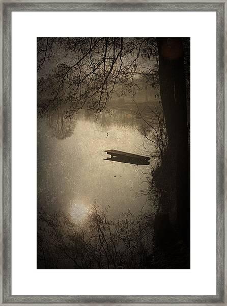 Mysterious Morning Framed Print