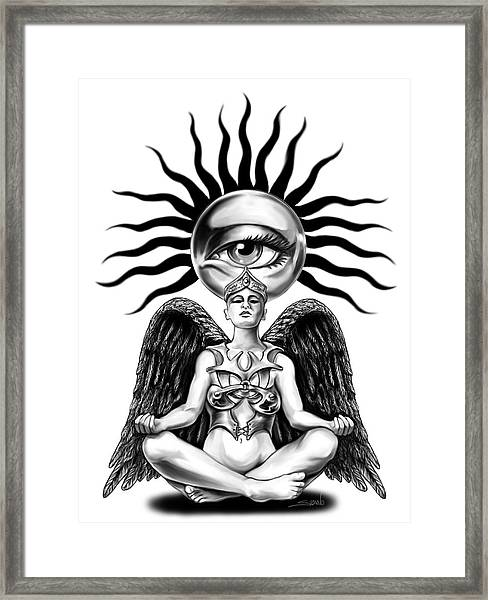 Mystic Contemplation By Spano Framed Print