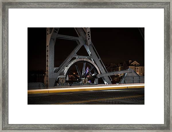 Mystic Drawbridge Linkage Framed Print