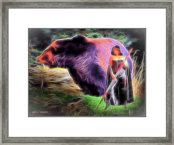 Mystic Druid Framed Print