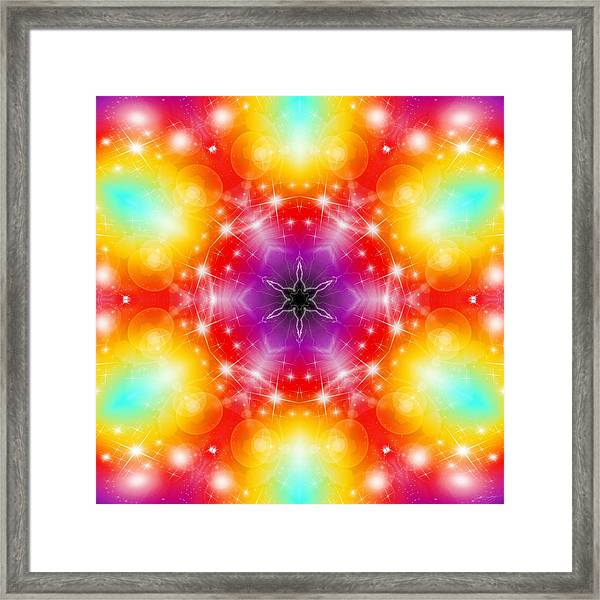 Mystic Karma Framed Print